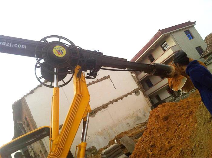 360轮式旋挖钻机使用广泛,是发家利器的首选产品